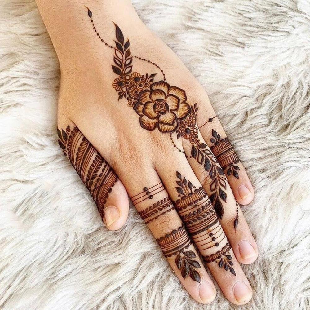 Afrina Henna Arabic Design