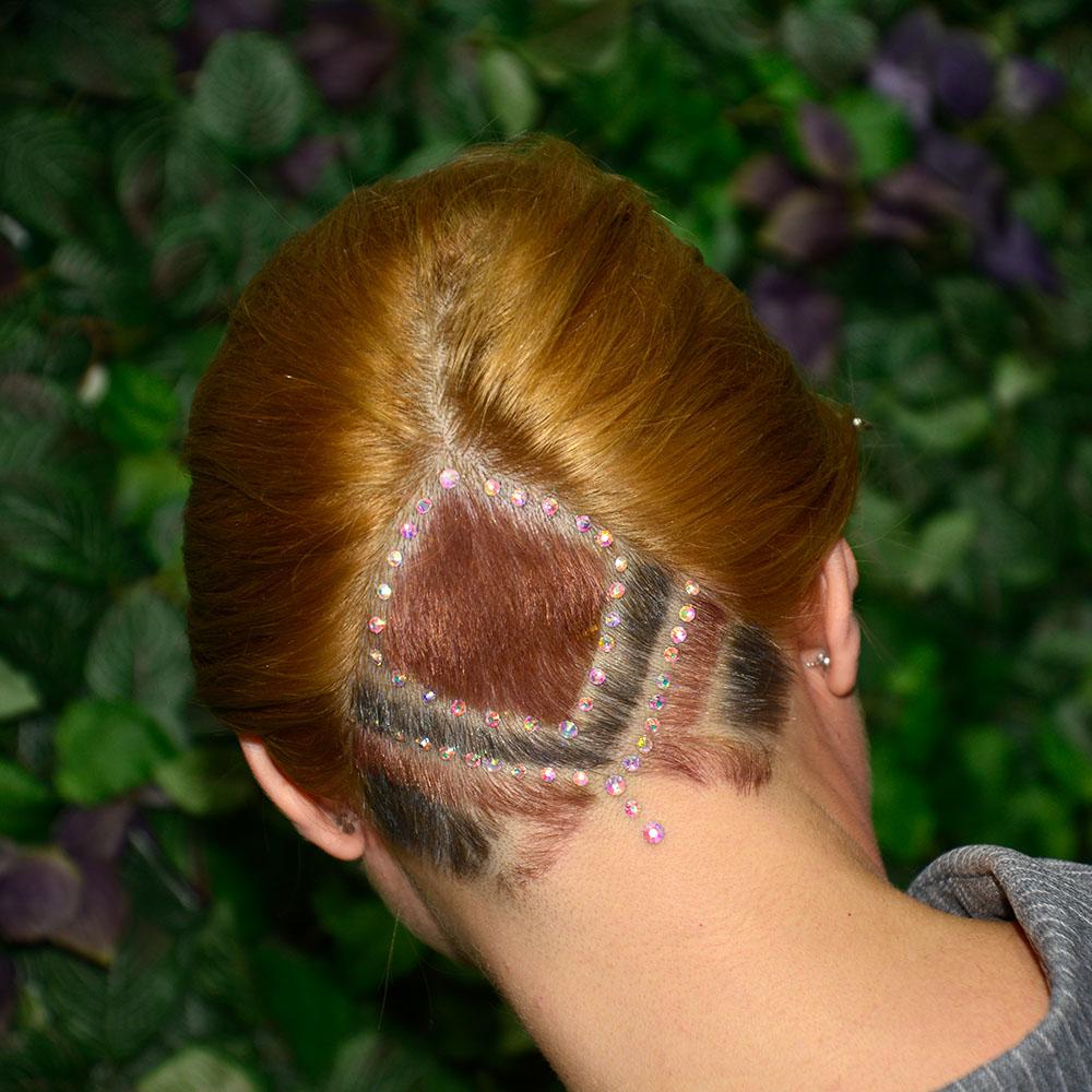 Afrina Creative Hair Cut