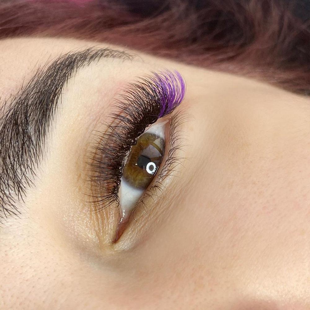 Eyelash Extension Color