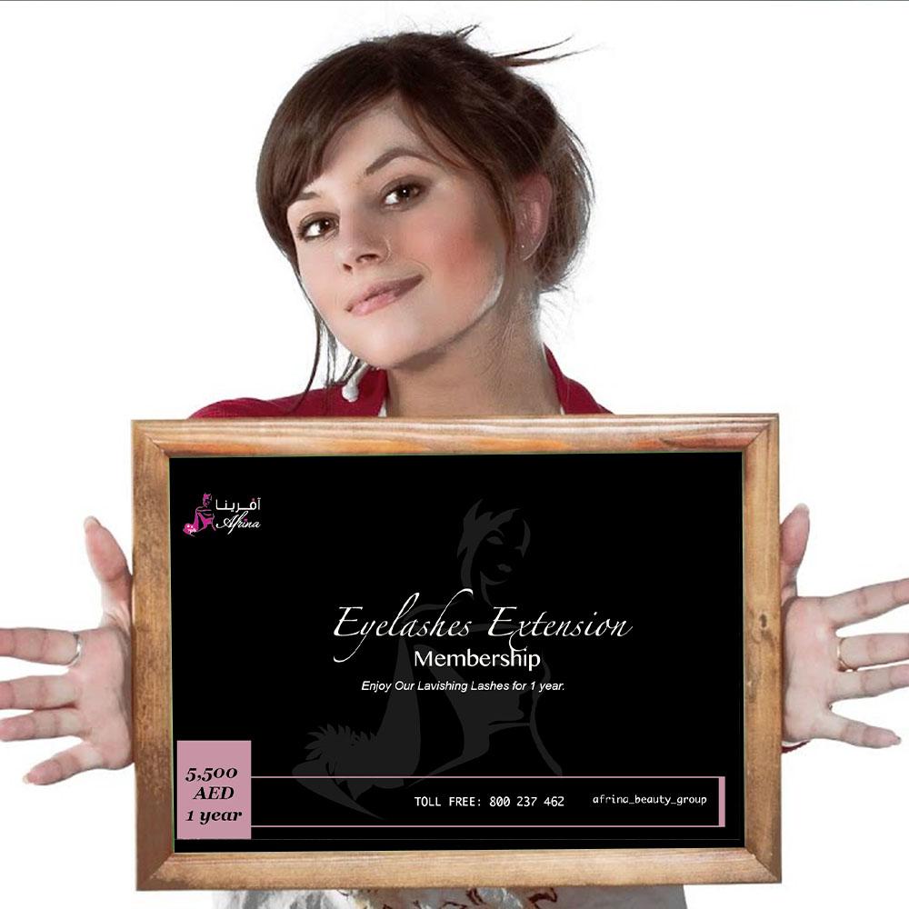 Afrina Eyelash Extension Membership