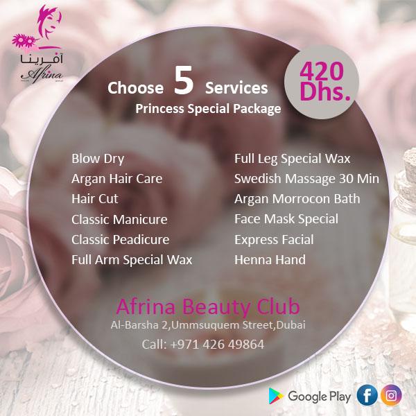 Afrina Beauty Offer