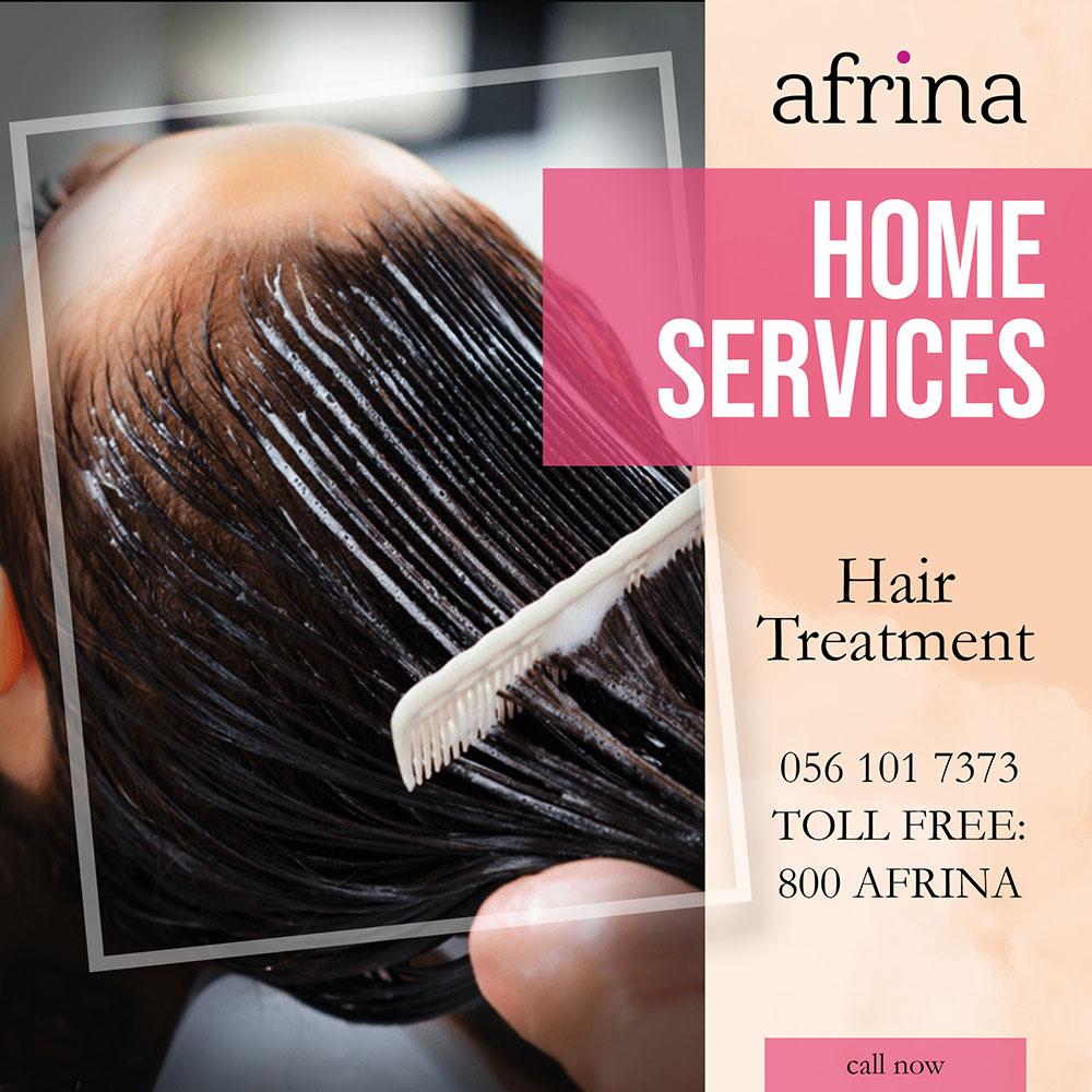 Hair Treatment Afrina Beauty