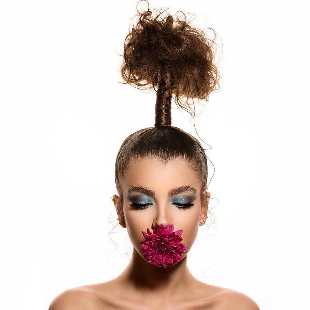 Afrina Hair Up Do & Styling