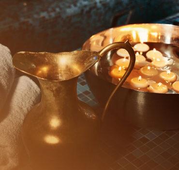 Moroccan Bath Gold