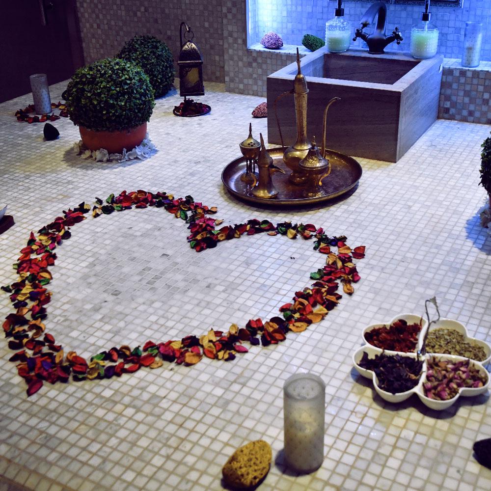 Bridal Morrocan Bath